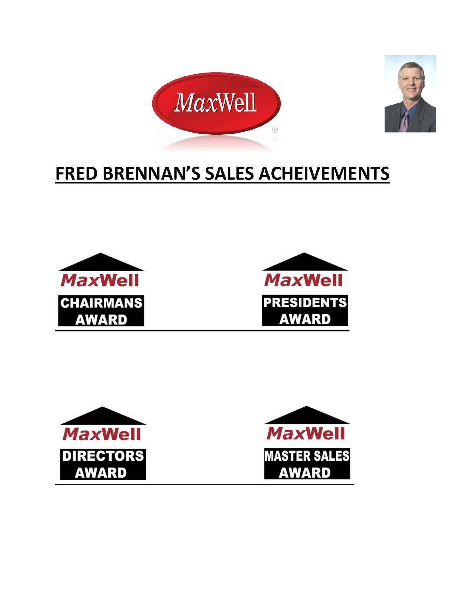 Sales Achievements